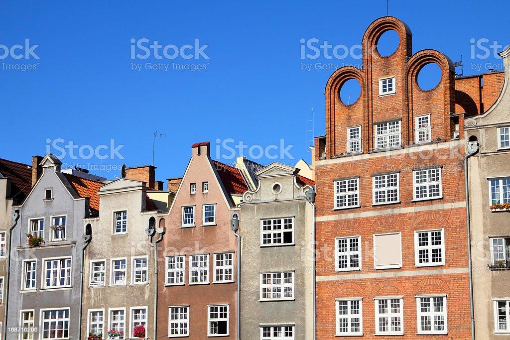 Gdansk stock photo