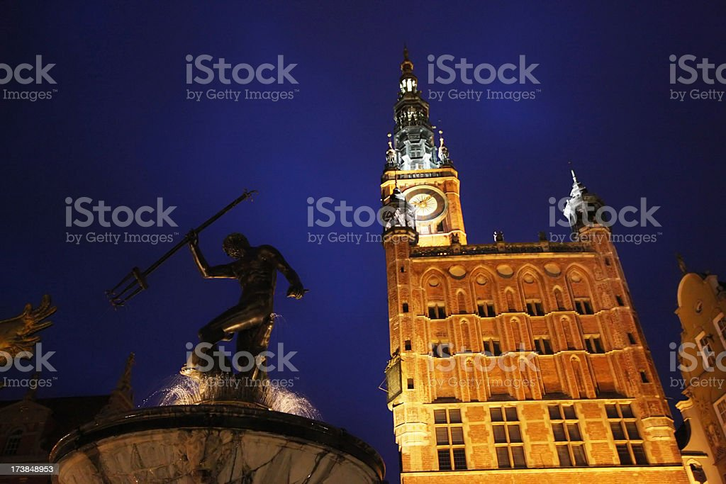 Gdansk royalty-free stock photo