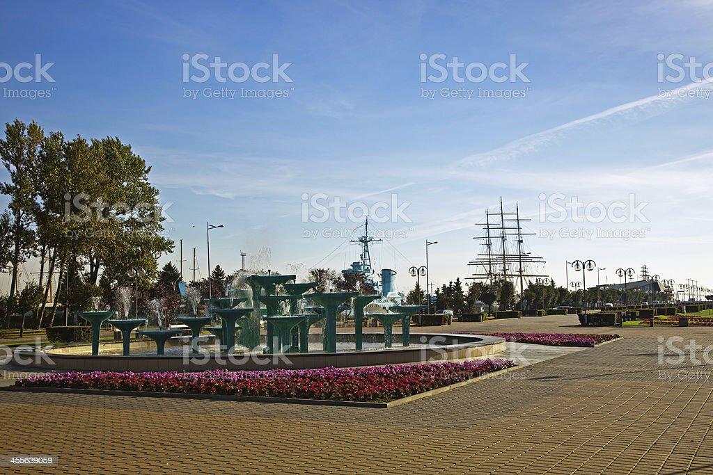 Gdynia stock photo