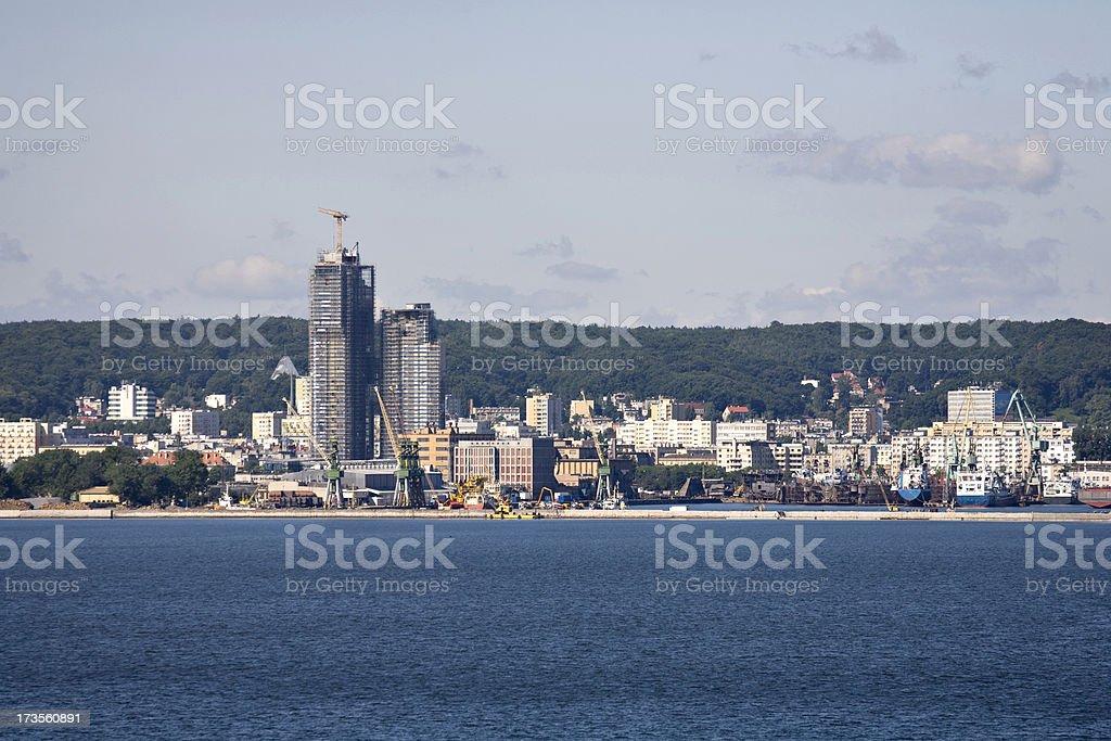 Gdynia Poland stock photo