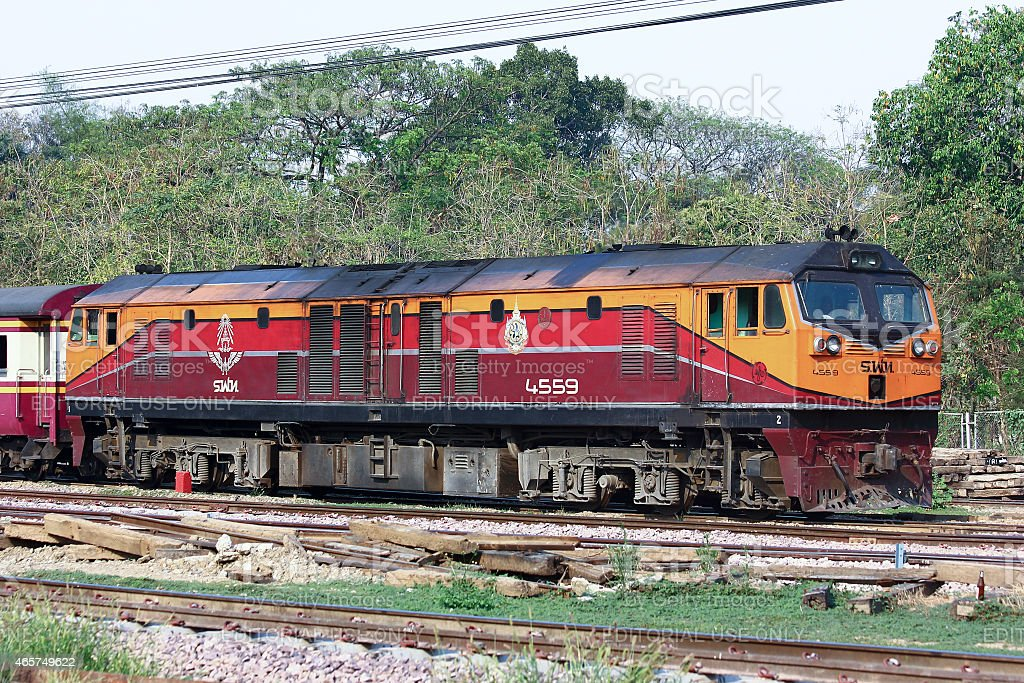 Ge Diesel locomotive no.4559 stock photo