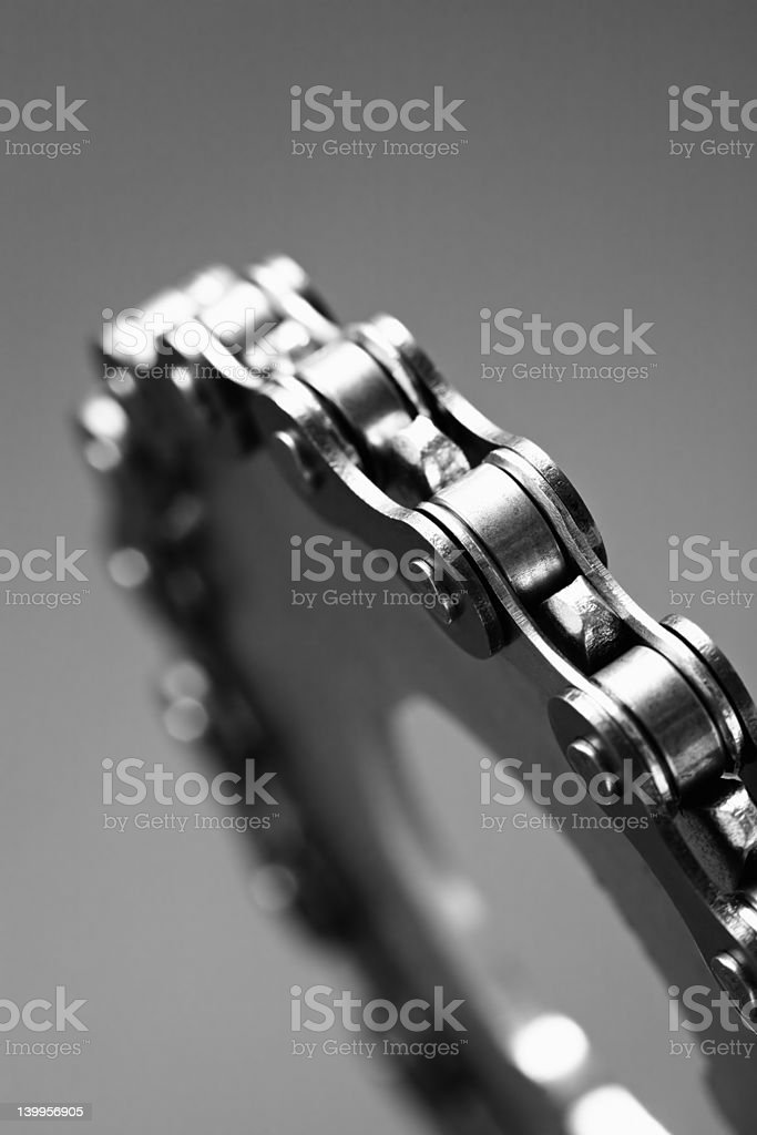 gear abstract bw royalty-free stock photo