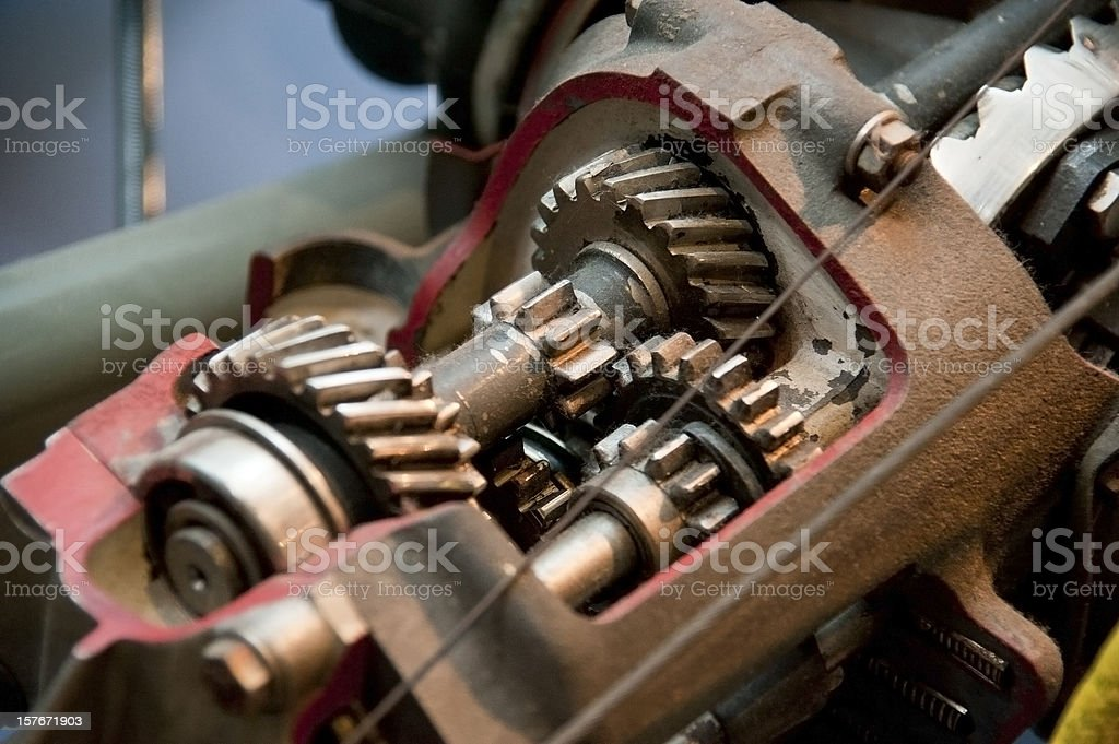 gear box stock photo