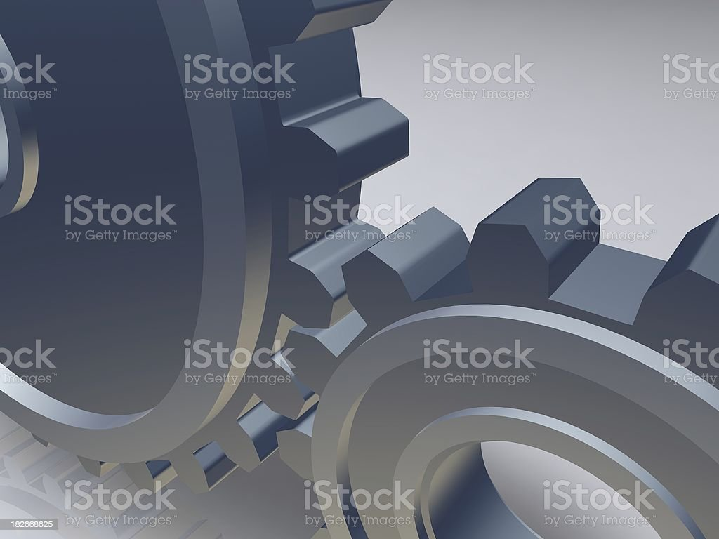 Gear - Cog wheal royalty-free stock photo