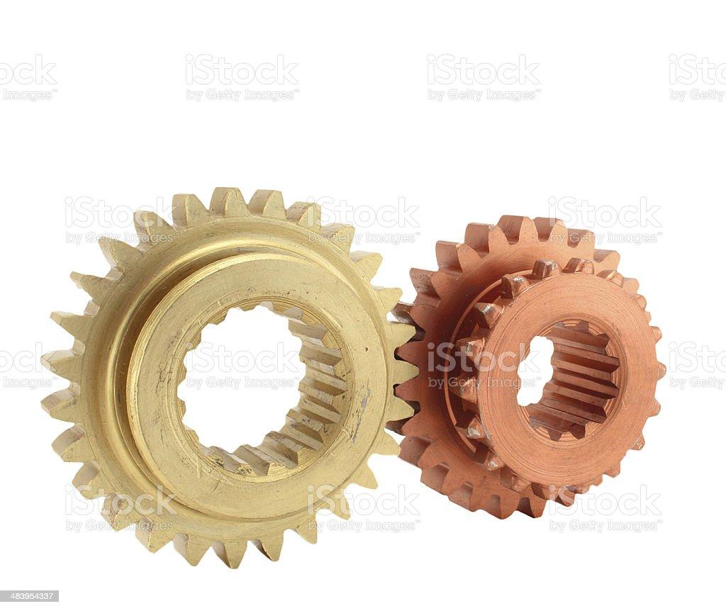 gear cog-wheels stock photo