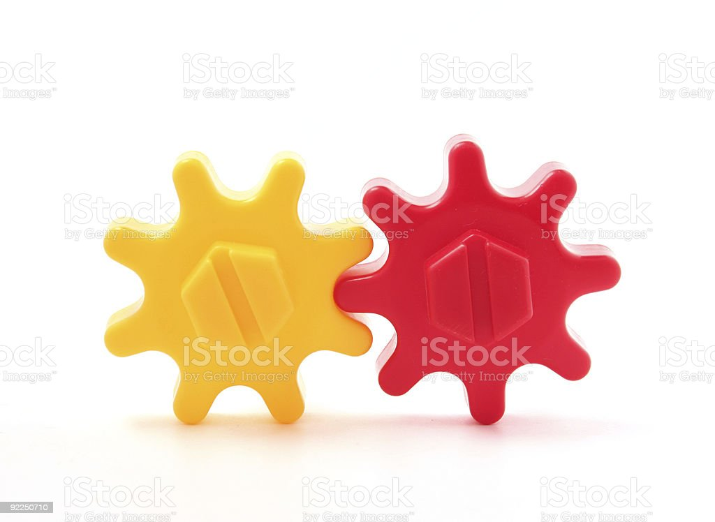 Gear, connected teamwork! royalty-free stock photo