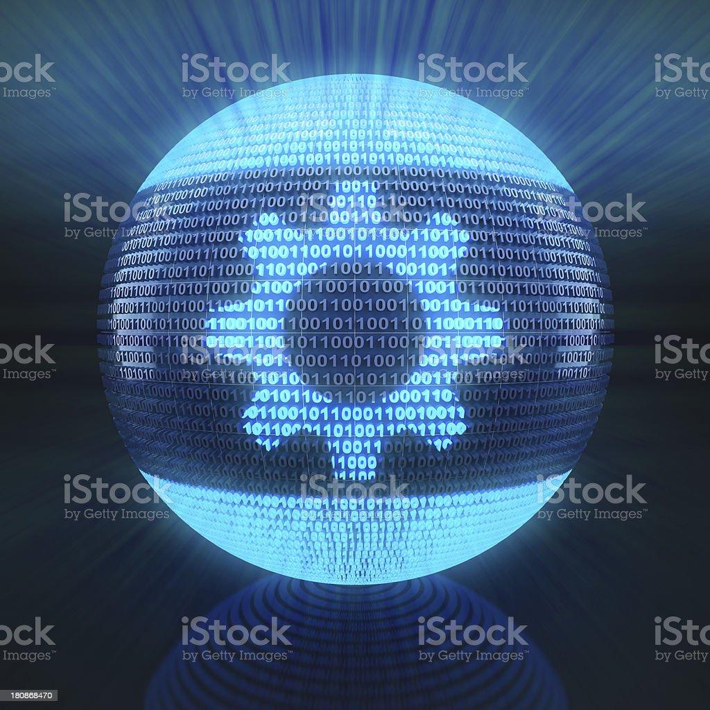 Gear icon royalty-free stock photo