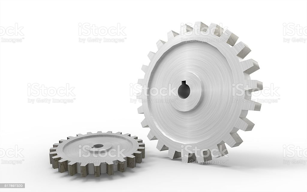 Gear isolated Concept stock photo