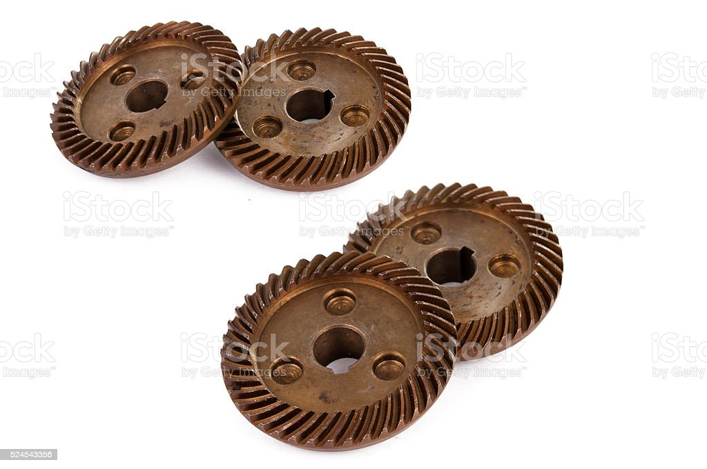 gear isolated stock photo
