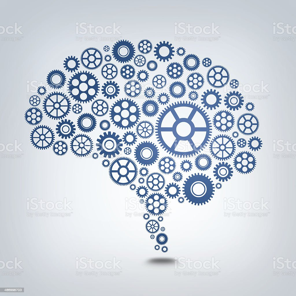 Gear Mind stock photo