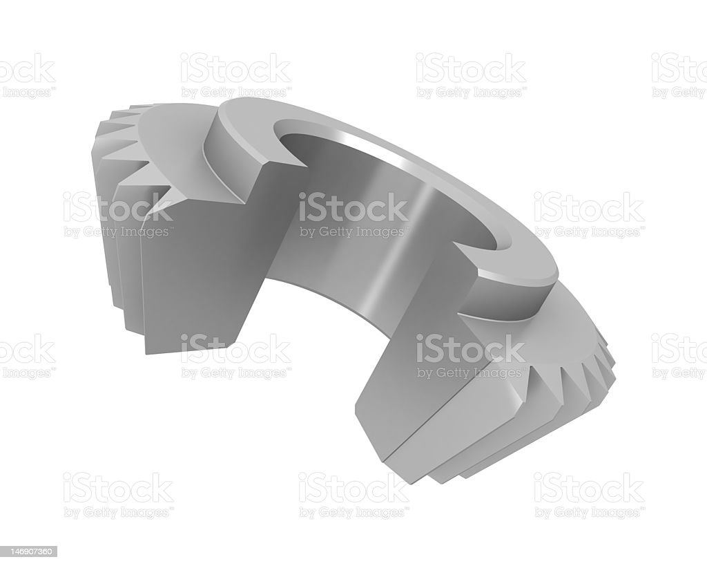 Gear Sectional stock photo