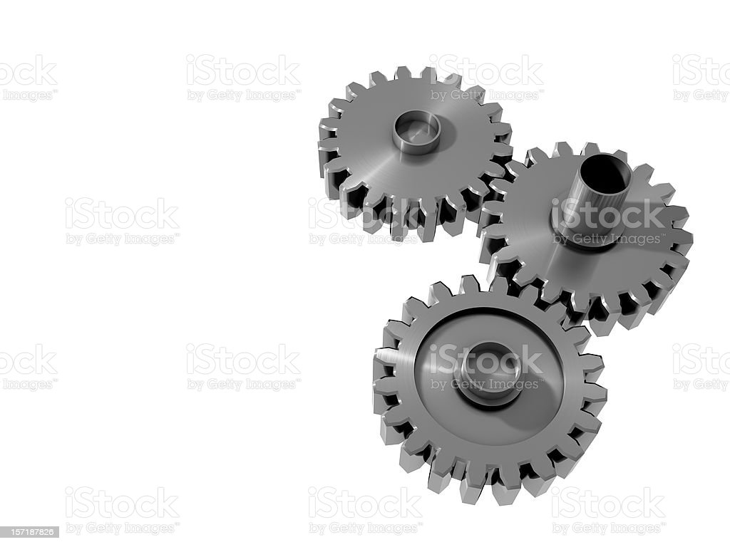 Gear Series IV stock photo