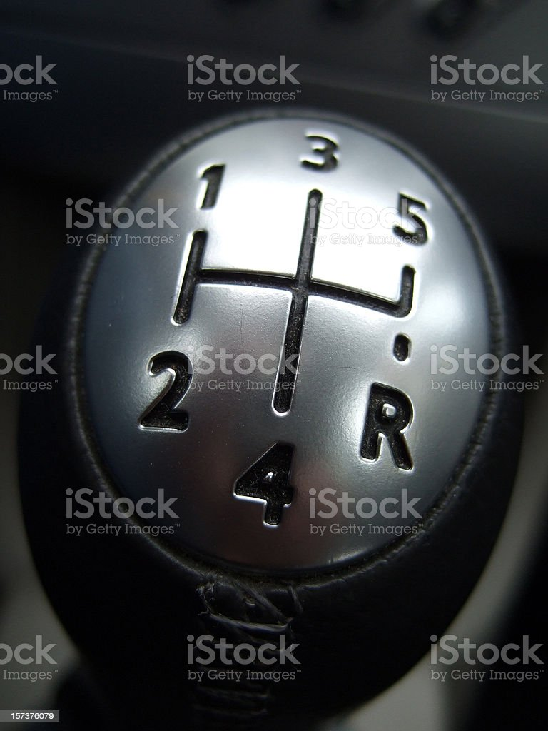 gear shift lever royalty-free stock photo