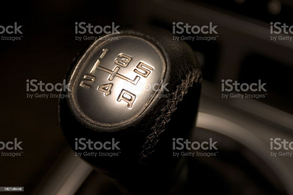 Gear Shifter royalty-free stock photo