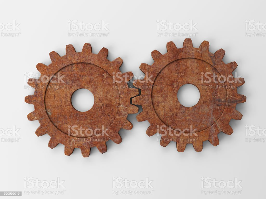 gear to place concepts vector art illustration