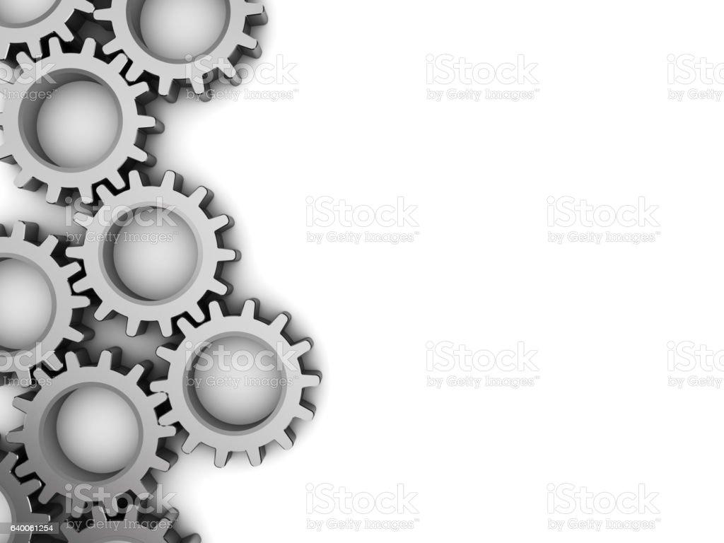 gear wheels background stock photo