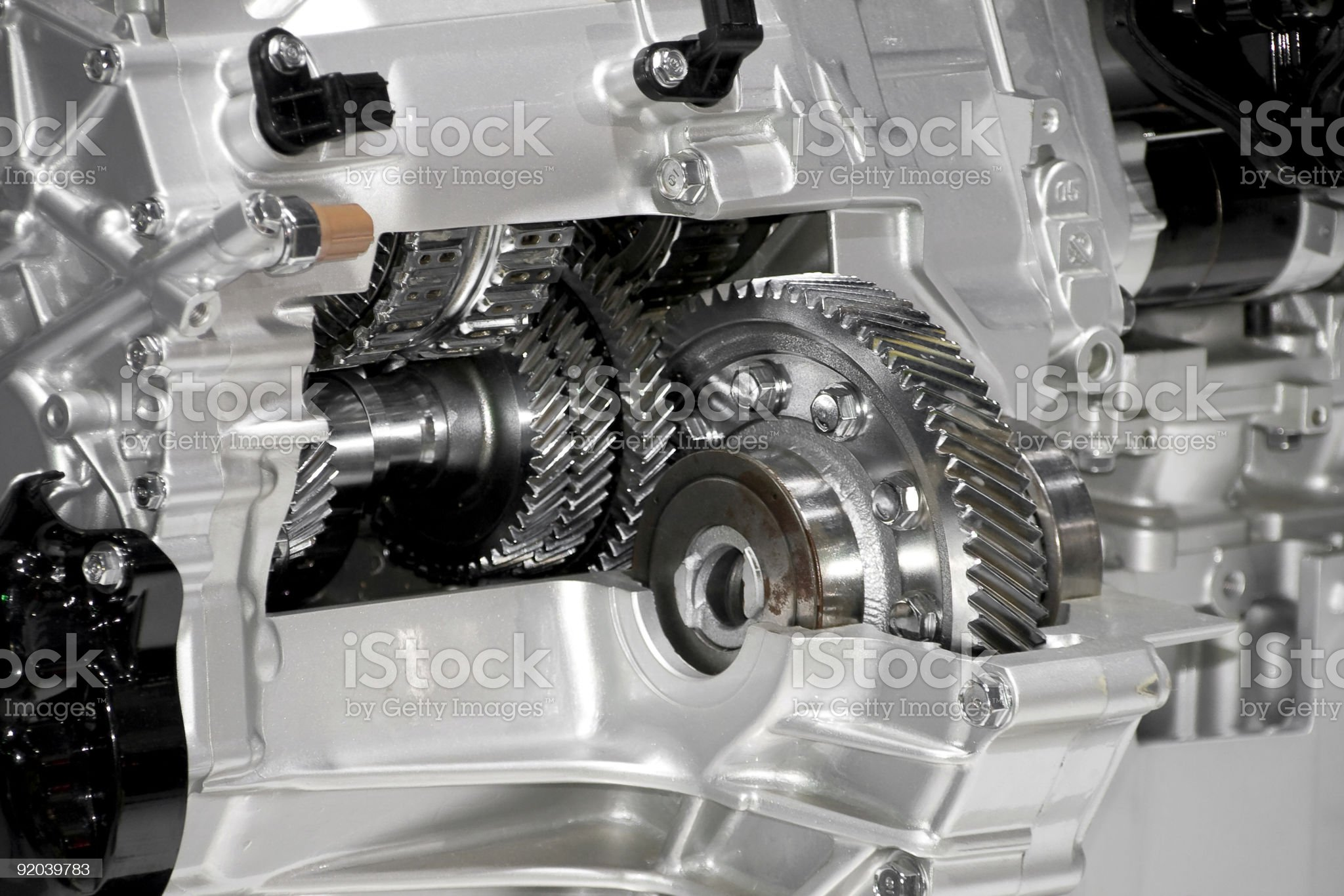 gear-box royalty-free stock photo