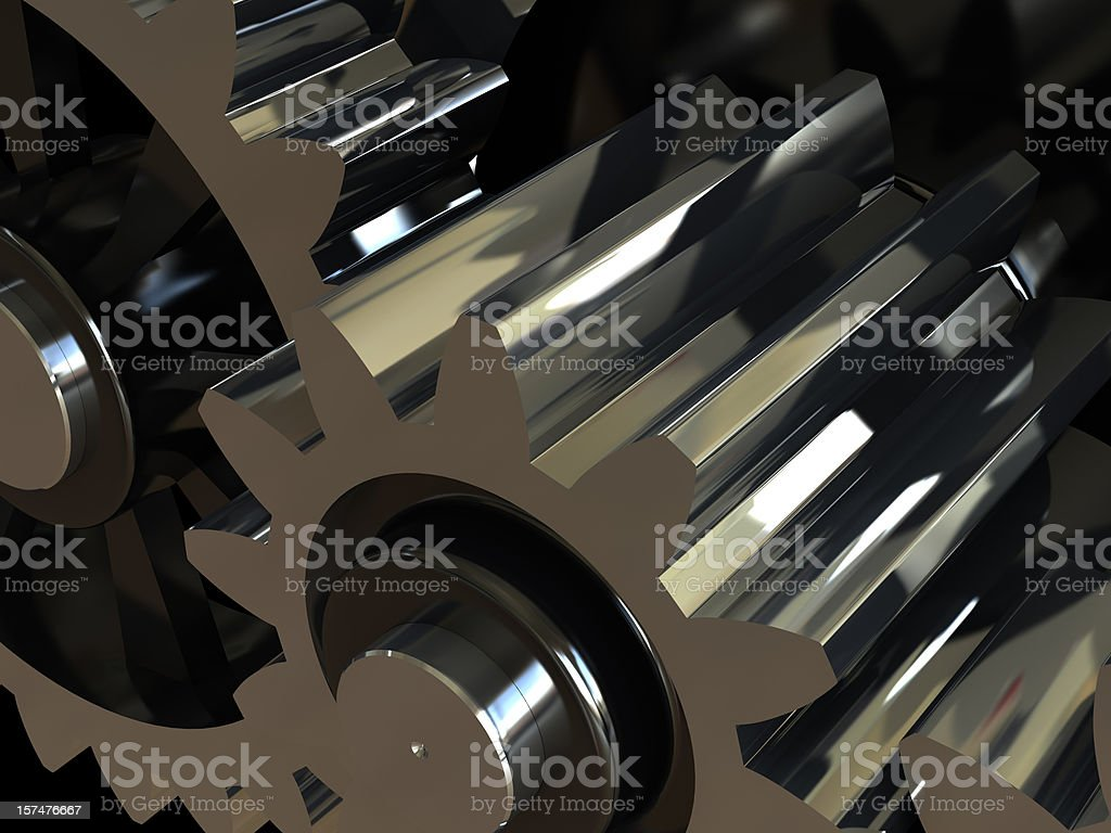 Gearing background stock photo
