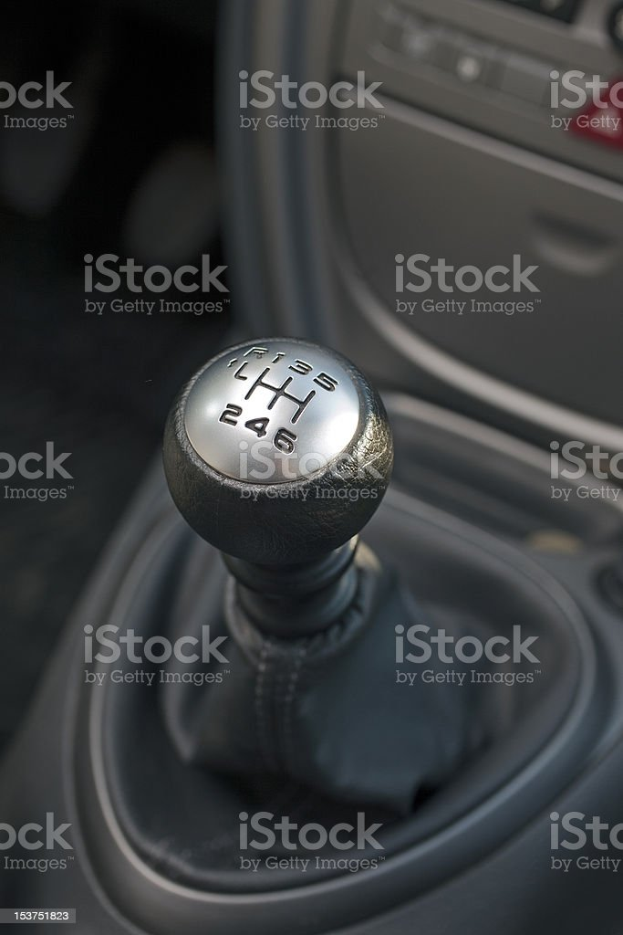 gear-lever royalty-free stock photo
