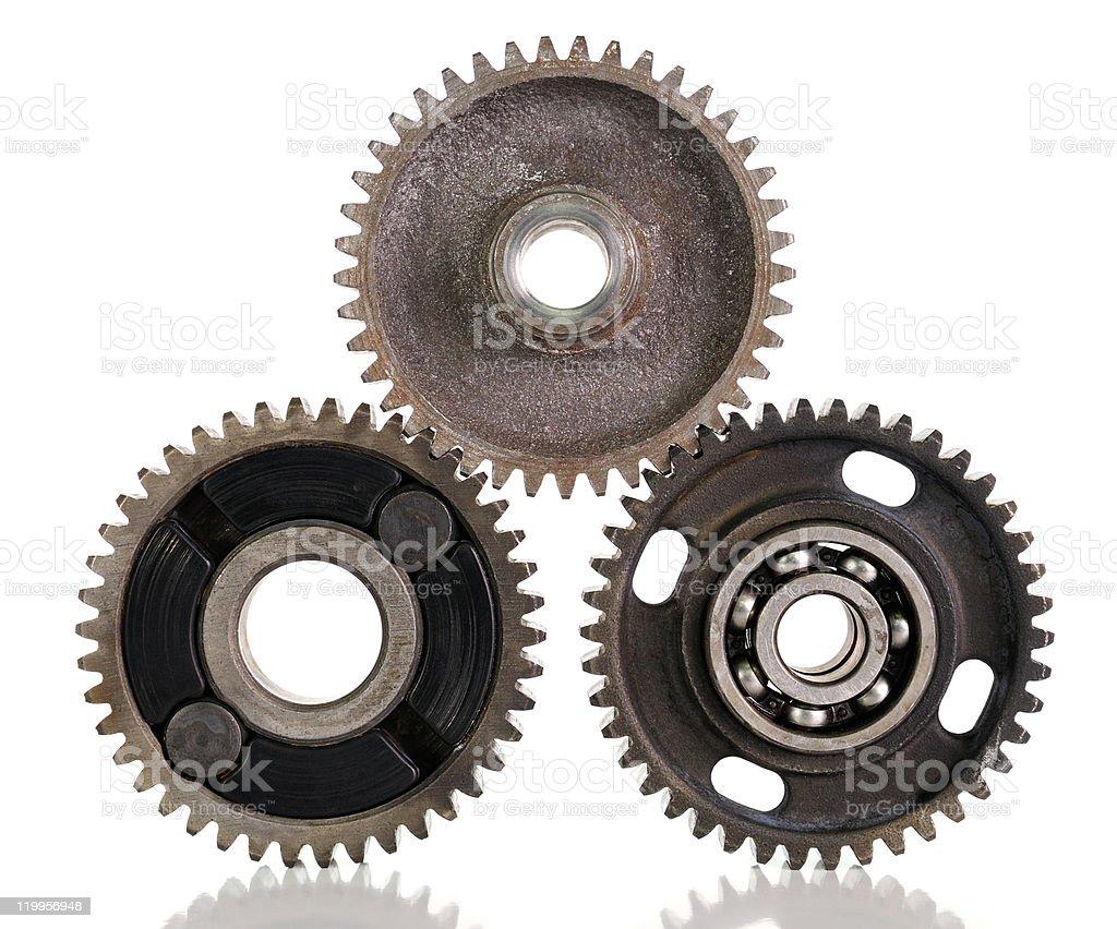 Gears and bearings stock photo