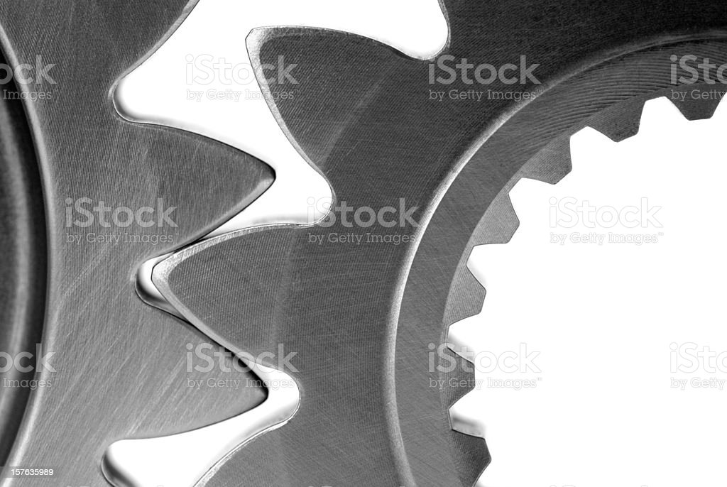 Gears in mesh royalty-free stock photo
