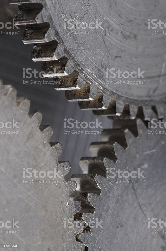 gears macro royalty-free stock photo
