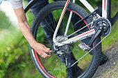 Gears of a bike