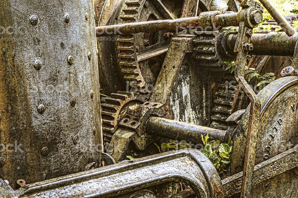 Gears of Yore stock photo