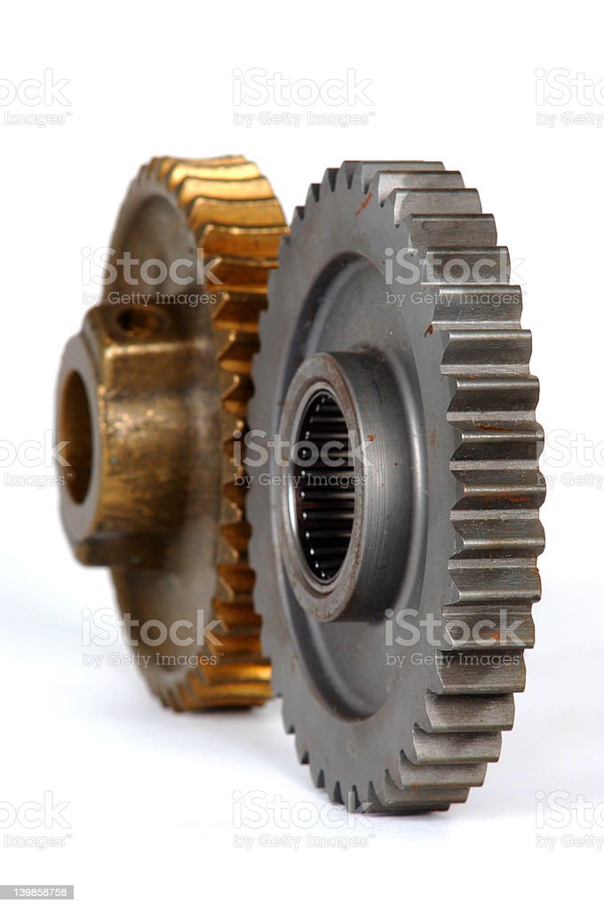 Gears part 2 royalty-free stock photo