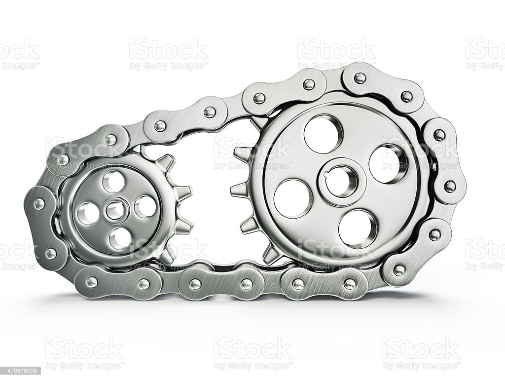 gears part stock photo