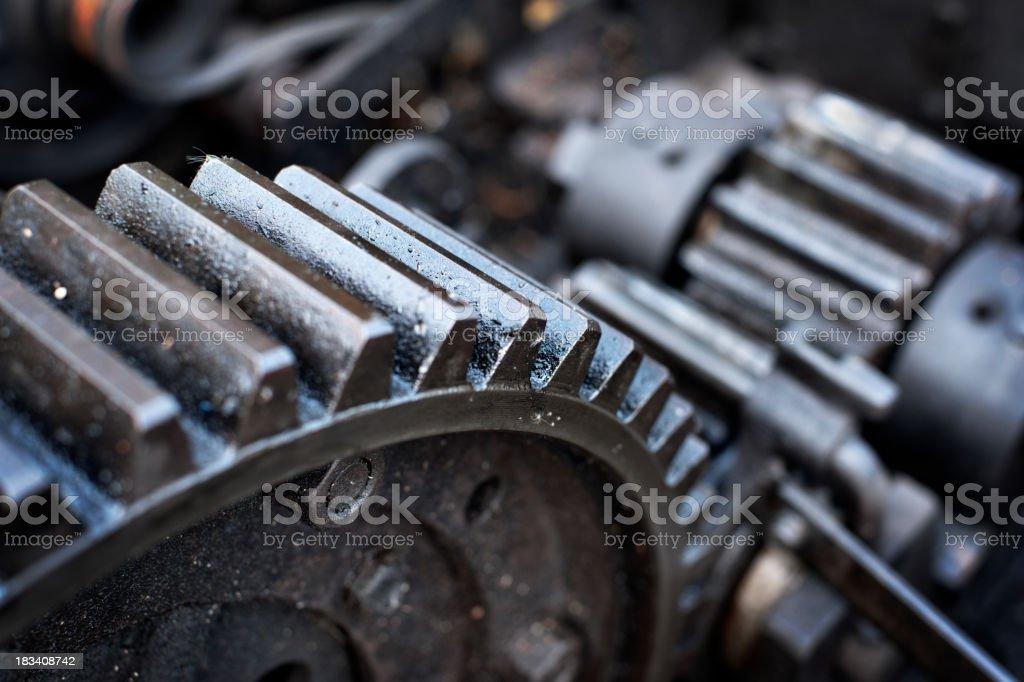 Gears stock photo
