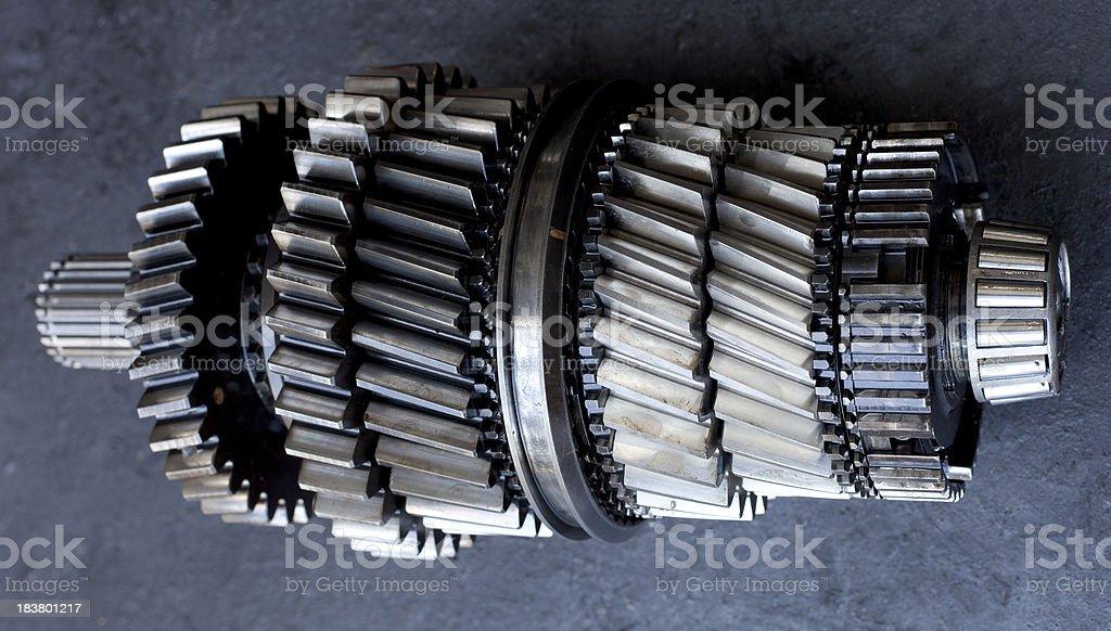Gears royalty-free stock photo