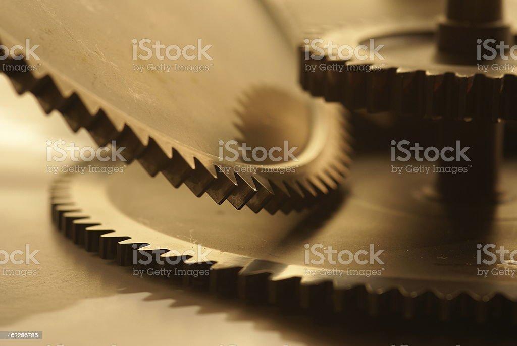 Engranajes foto de stock libre de derechos