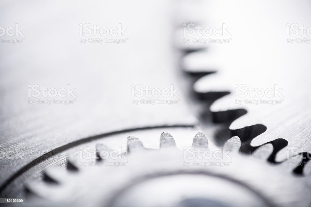 Gears (shallow DOF) stock photo