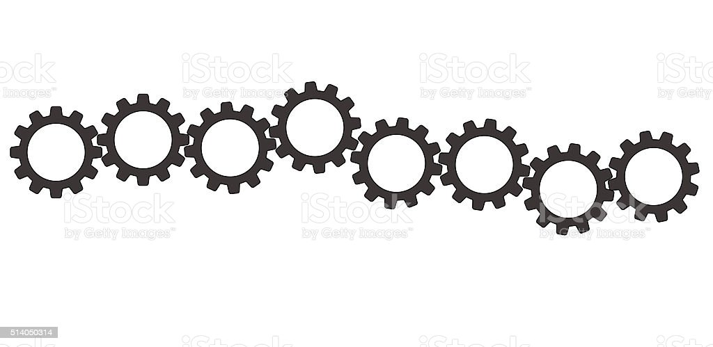 Gears (cogs) stock photo