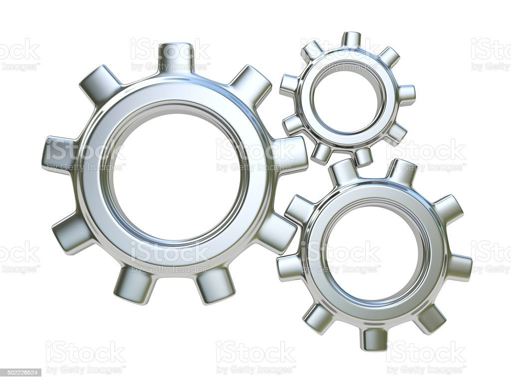 Gears. Teamwork concept stock photo