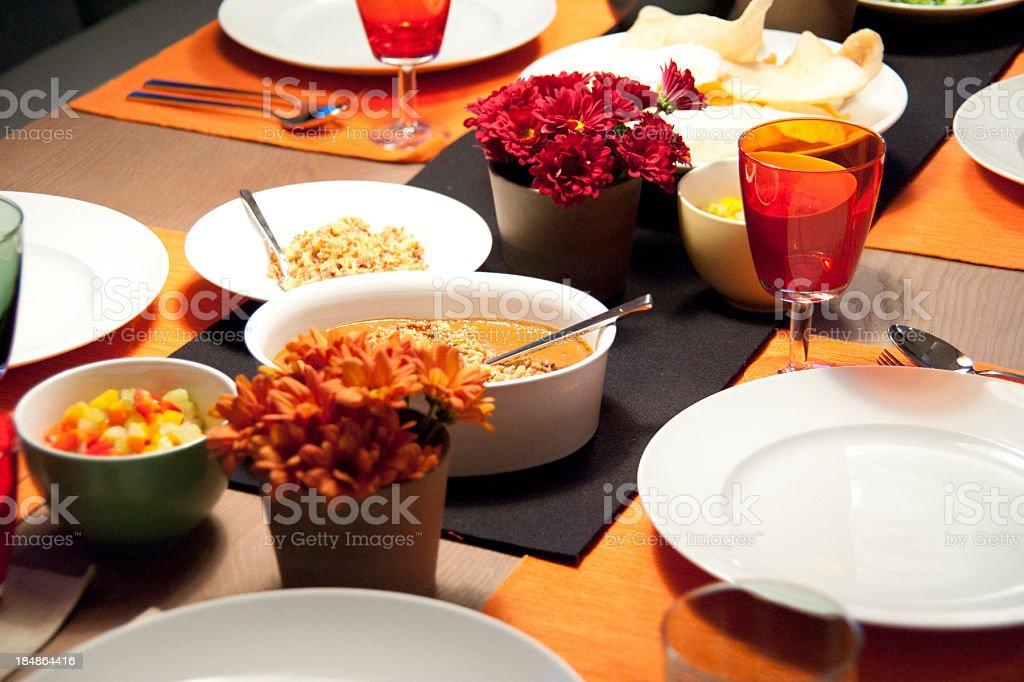 Gedeckter Tisch royalty-free stock photo