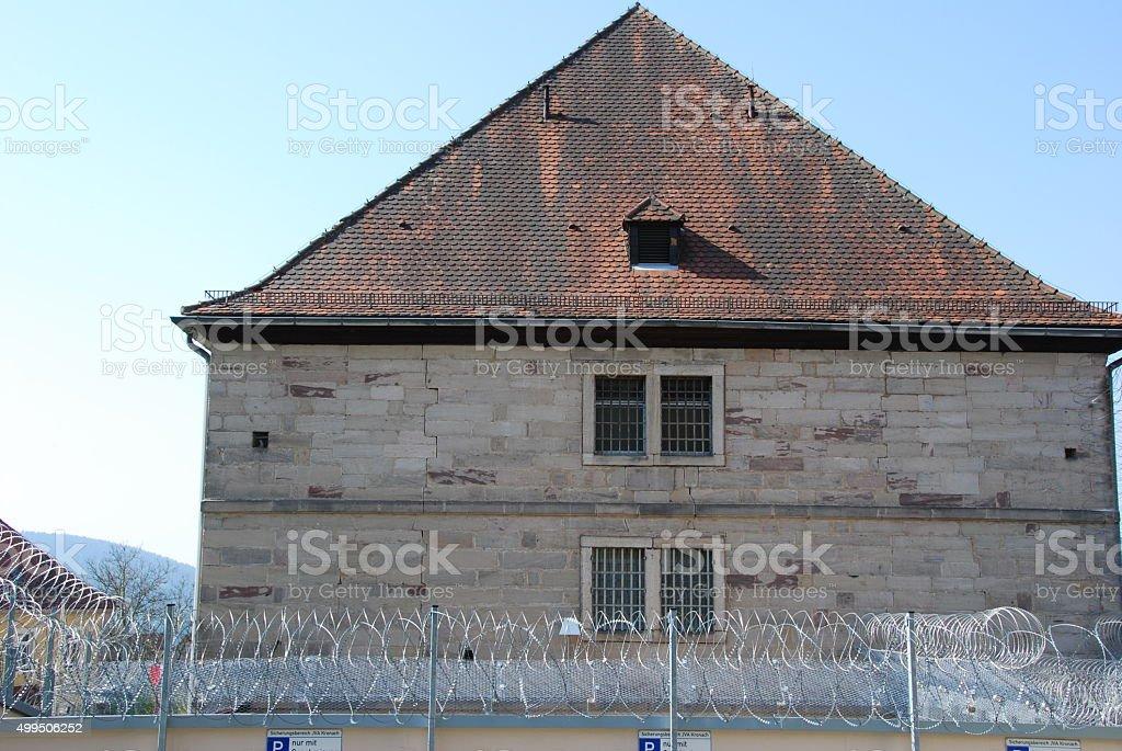 Gefängniss stock photo