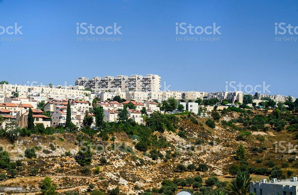 Gehenna Hinnom Valley in Jerusalem, Israel stock photo