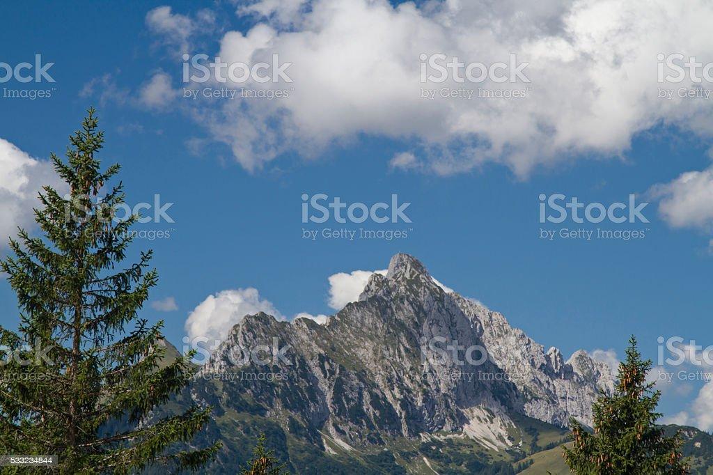 Gehrenspitze stock photo