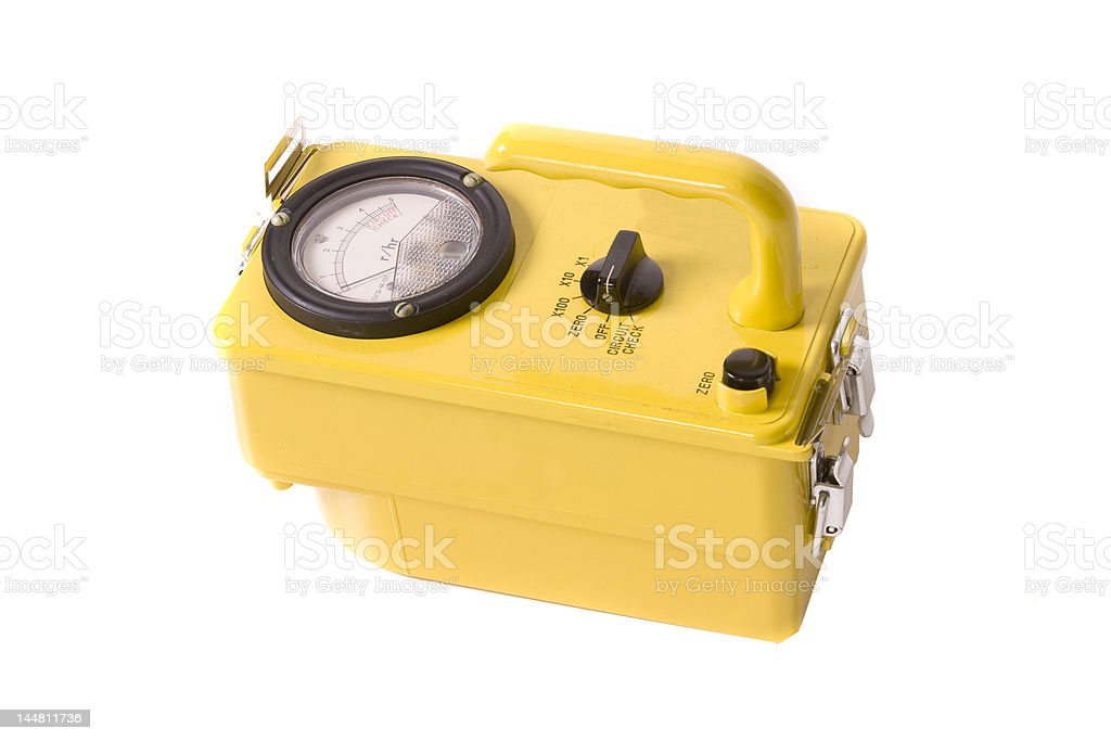 Geiger Counter royalty-free stock photo
