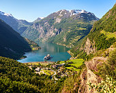 Geiranger fjord view, Norway