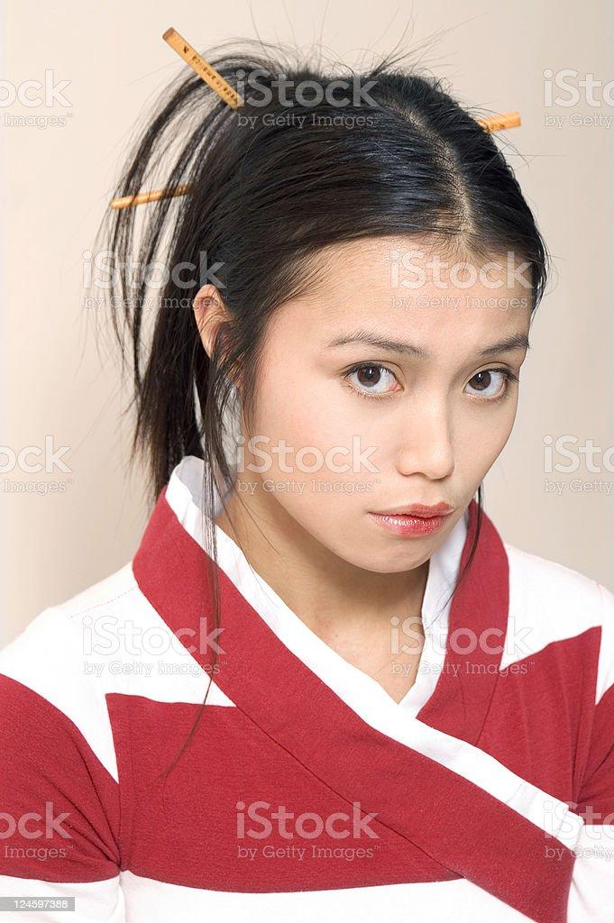 Geisha Girl stock photo