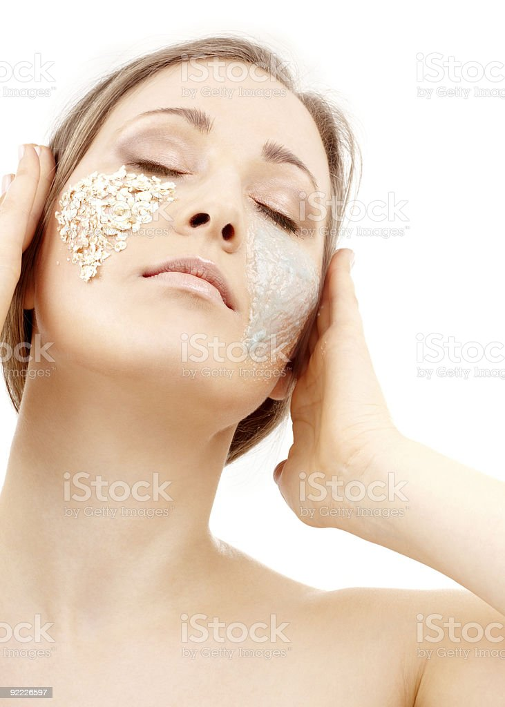 gel and scrub royalty-free stock photo