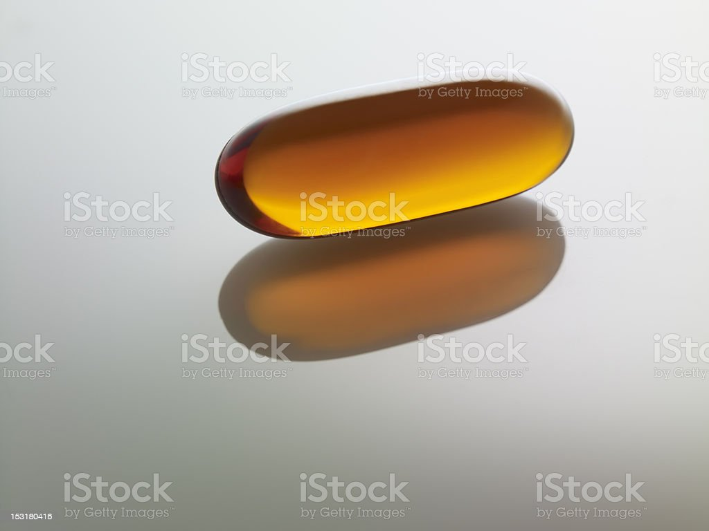 Gel capsule stock photo