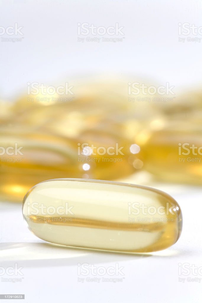 Gel Capsules stock photo