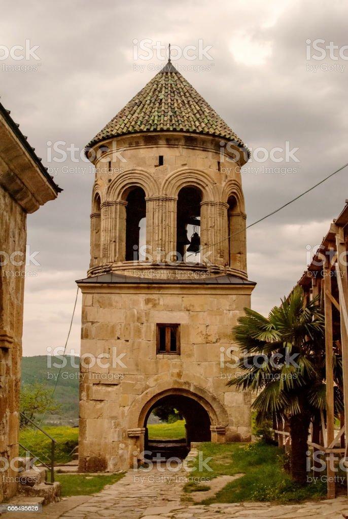 Gelati Monastery of the Virgin stock photo