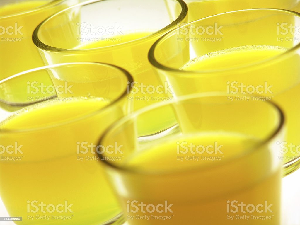 gelatin Cups stock photo
