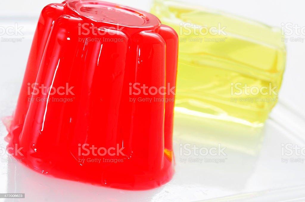 gelatin desserts stock photo