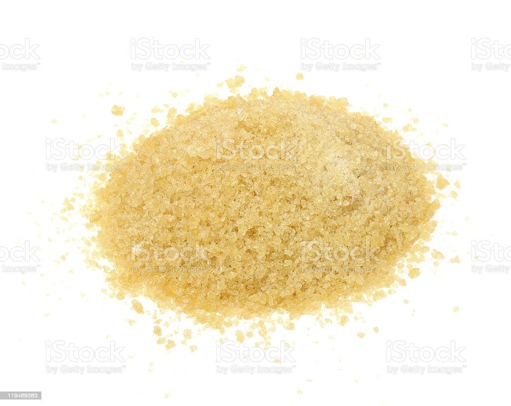 Gelatin Granules stock photo